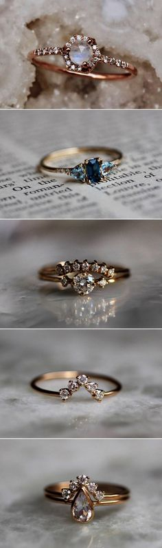 BEST OF 2017: 12 Most Loved Wedding Accessory Shops! Best Selling Engagement Rings #EngagementRings