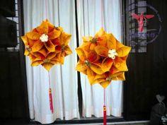 Hongbao lanterns (红包花灯)