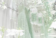 Fresh flowers and infinite reflections of sparkle.. See more on TheLightOfNow.com #TheLightOfNow