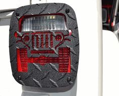 All Things Jeep - Jeep Tweaks Jeep Design Tail Light Guards for Jeep CJ, Wrangler YJ, TJ and LJ Unlimited