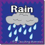 rain preschool pack