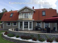 Altanbygge.nu - Kvalitetsprodukter till ditt hus Home Fashion, Mansions, House Styles, Home Decor, Decoration Home, Manor Houses, Room Decor, Villas, Mansion