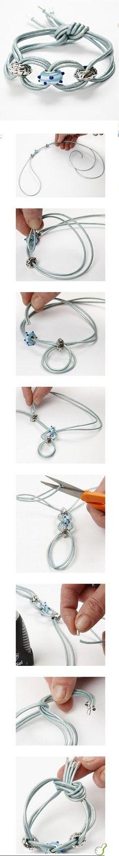 DIY Bracelet diy craft crafts craft ideas easy crafts diy ideas crafty easy diy diy jewelry craft jewelry diy bracelet craft bracelet fashion crafts