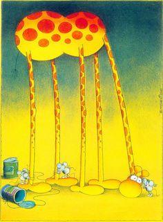 The Exhibition of Cartoon / Mordillo / Argentina