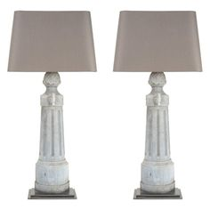 Pair Of 1stdibs Metal Tall Lamps Shade French Table Lamps - #1stdibs #french #lamps #metal #Shade #table - #LightSensor