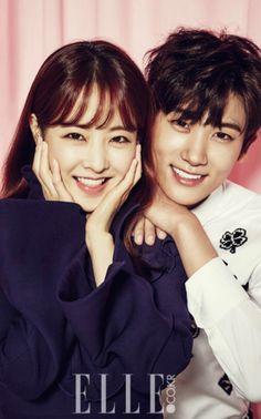 Park Boyoung and Park Hyunsik
