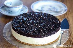 Eplekake i langpanne med vaniljekrem   Det søte liv Gelatin, Cheesecake, Desserts, Food, Tailgate Desserts, Jello, Deserts, Cheesecakes, Essen