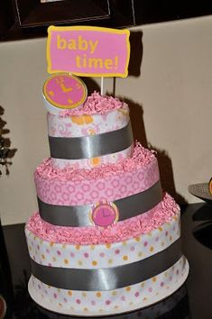 Around the Clock Baby Shower