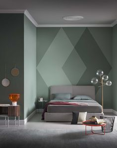 today we would like to propose you new alternatives to the one colour paint option new painting ideas able to confer the right feel to different rooms - Paint Design Ideas