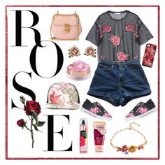 """Roses"" by bellanindia on Polyvore featuring MANGO, American Apparel, Chloé, Les Néréides, Vera Bradley, Gucci and Ted Baker"
