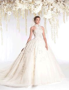 Ziad Nakad 2015 Wedding Dresses: The White Realm Bridal Collection - Wedding Digest Naija 2015 Wedding Dresses, Elegant Wedding Dress, Designer Wedding Dresses, Bridal Dresses, Wedding Gowns, Wedding Designers, 2015 Dresses, Ceremony Dresses, Wedding Ceremony