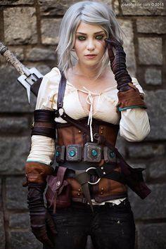 Ladee Danger as Ciri (Witcher 3)