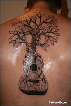 Awesome Guitar and treee