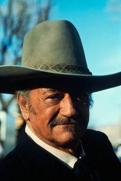 John Wayne on Set of The Shootist Classic Movie Stars 6e3f21d7661