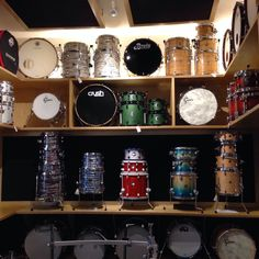 Vic's Drum Shop - Chicago, IL, United States. Candy land!!!