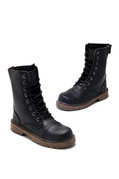 Vintage 8-Eye Army Style Boots $109.00