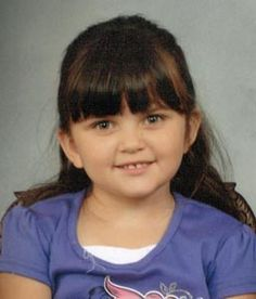 "Missing Child: Vanessa Carrillo    Date Missing: 11/5/2011  Missing From: Vallejo, CA  DOB: 1/29/2007  Age at Disappearance: 4 years  Sex: Female  Race: Caucasian/Hispanic  Height: 3'  Weight: 55 lbs.  Eyes: Green  Hair: Brown  Other: Vanessa has a scar on her forehead.    Circumstances: On November 5, 2011, Vanessa and Lukas went missing from Vallejo, California. They may be in the company of their non-custodial father.  Missing Child: Lukas Carrillo    Date Missing: 11/5/2011  Missing From: Vallejo, CA  DOB: 8/18/2009  Age at Disappearance: 2 years  Sex: Male  Race: Caucasian/Hispanic  Height: 2'5""    Weight: 29 lbs.  Eyes: Brown  Hair: Brown"