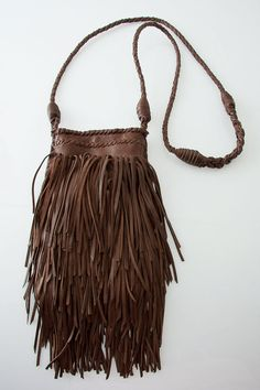 Fringed Pouch.