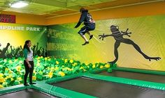 Groupon - Trampoline Park Jump Sessions for Two or Four at Rockin' Jump (Up to 50%Off). Four Options Available. in Rockin Jump - Mount Kisco. Groupon deal price: $22
