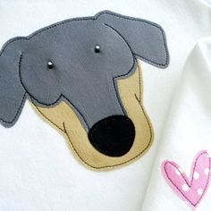 Download FREE Dachshund Applique Design Sewing Pattern | FREE PATTERN CLUB | YouCanMakeThis.com