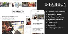 inFashion - Fashion Blog WordPress Theme • Download theme ➝…