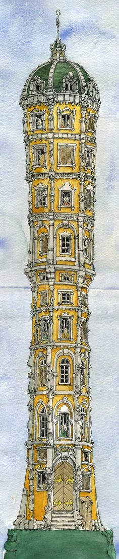 Town Tower - Adolfsson