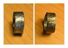 Anello  Titanio fatto a mano  TIitanium ring re-handmade