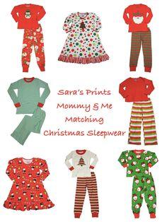 1a04b91c56 Holiday Matching Family Pajamas    Sara s Prints Christmas Sleepwear  Matching Christmas Pajamas