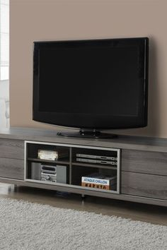 "Euro Style Dark Taupe 70"" TV Stand"