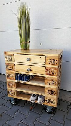 Here is an idea which helps in saving the space as it serves as both a side table and a shoe rack, they both are needed in a home and nothing is better than following this idea to avoid placing 2 different furniture pieces to fulfill the need.