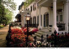 Savannah, Georgia. Absolute favorite place to be