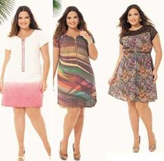 plus size curtos