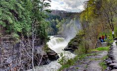 """""""Letchworth State Park in New York."""" --Holly Slade Bommer (From: 27 Perfect Places to Go Camping)"""