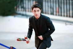Do Kyungsoo coming to propose, obviously...