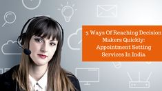 In this era, the job of Appointment Setting Services In India has become a tough for approaching the top executives where these are extremely busy.The article suggests effective ways of reaching out to the desired decision makers without wasting too much time.