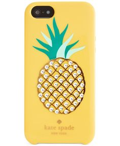 kate spade new york Embellished Pineapple Resin iPhone 5 Case - Handbags & Accessories - Macy's
