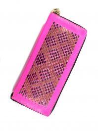 Pink Mila Sula Wallet by Callen Cordero