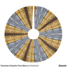 Futuristic Primitive Tree Skirt