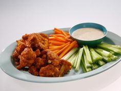 """Get BBQ Cauliflower """"Wings"""" Recipe from Food Network"""