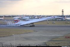 Always and forever, my strongest memories of Heathrow include Concorde.  British Airways Aerospatiale-British Aerospace Concorde 102.  London Heathrow (LHR ) - October 24, 2003.  G-BOAG. Last of 3 arrivals with lots of staff and smoke.