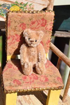 "3 1/2"" Antique Steiff teddy bear circa 1930 now on SALE by bebesandbruins on Etsy"