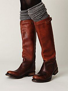 leg warmers with boots. doing it this year.