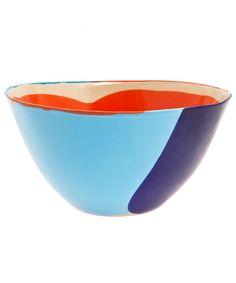 Splash Print Salad Bowl