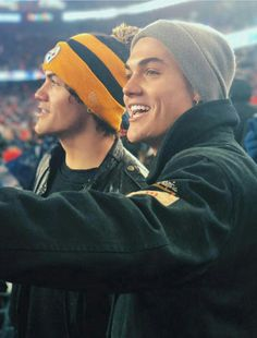 The fact that Ethan is wearing a Steelers beanie makes him 10x more attractive