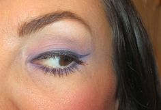 Lavender + orchid eyeshadows make the perfect spring eye makeup combo for ANY eye color! #purple