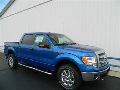 Flaming Blue 2013 Ford F-150
