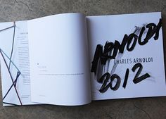 Since Charles Arnoldi's work inspired WRAPPED, we thought it only fitting to give away a signed book that presents the work of Arnoldi. You'll be automatically entered to win the 360-page book (published by Radius Books) just by ordering one of the new WRAPPED graphics from November 8-14, 2012.