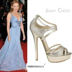 Kylie Minogue in Jimmy Choo Sierra platform sandals [CELE043] - $228.00 : Discounted Christian Louboutin,Jimmy Choo,Valentino Shoes Online store