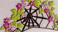 Hand Embroidery | Spiderwebs Stitches by Hand | HandiWorks #64