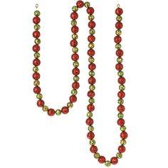 The Jolly Christmas Shop - Raz Glitter Ball 6' Garland, $8.99 (http://www.thejollychristmasshop.com/raz-glitter-ball-6-garland/)